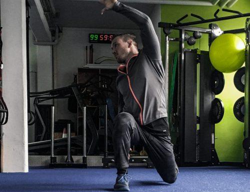 Statisches Dehnen vor dem Training